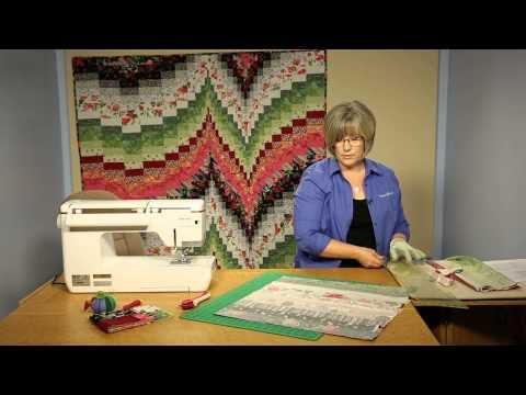 Author and prolific quilter Maggie Ball joins Nancy to present her ingenious Bargello quilt block. Maggie and Nancy share the secrets for planning the blocks...