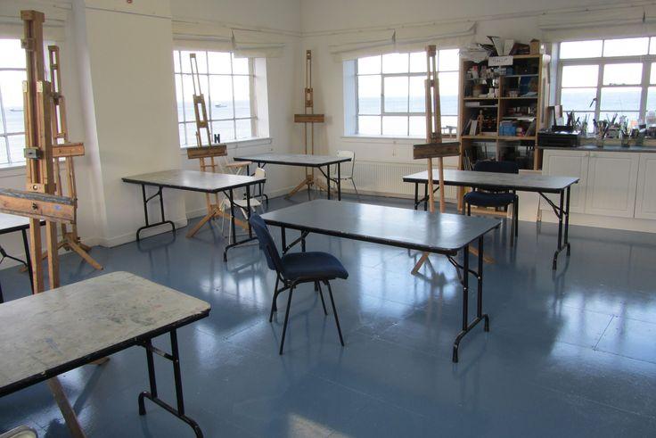 Main teaching studio at The Creative Retreat