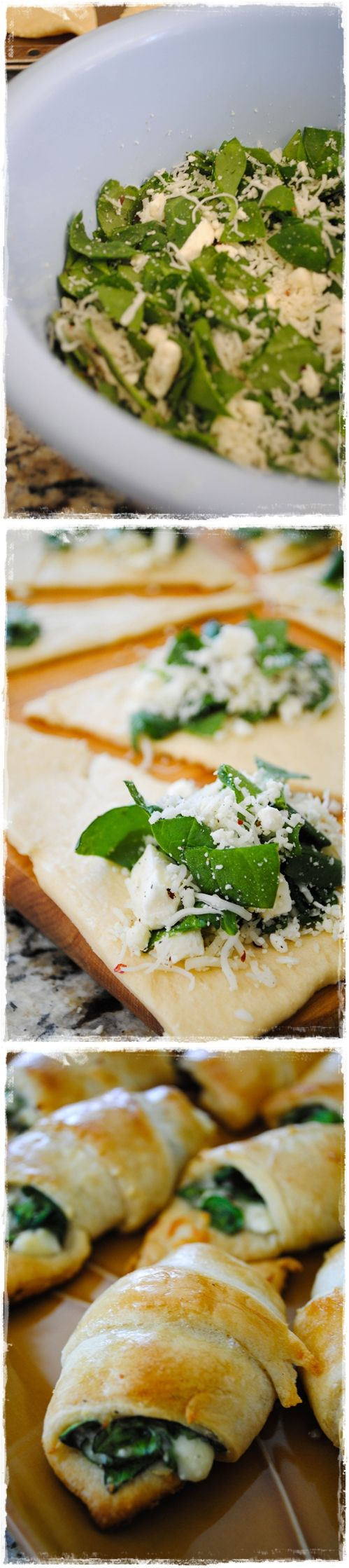 Cheesy Spinach Crescent Rolls | Lidia's Secret Recipes