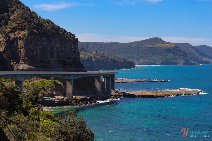 Sea Cliff Bridge, Grand Pacific Drive, NSW, Australia