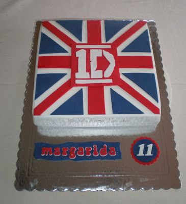 Bolos lindos de comer: Bolo One Direction / 1D cake