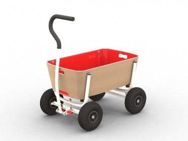 Der perfekte Bollerwagen für Kinderkrippen, Kindergärten und Horte! Aber auch für den privaten Gebrauch beim Camping, einem Tagesausflug in den Ferienpark oder zum Strand unverzichtbar.