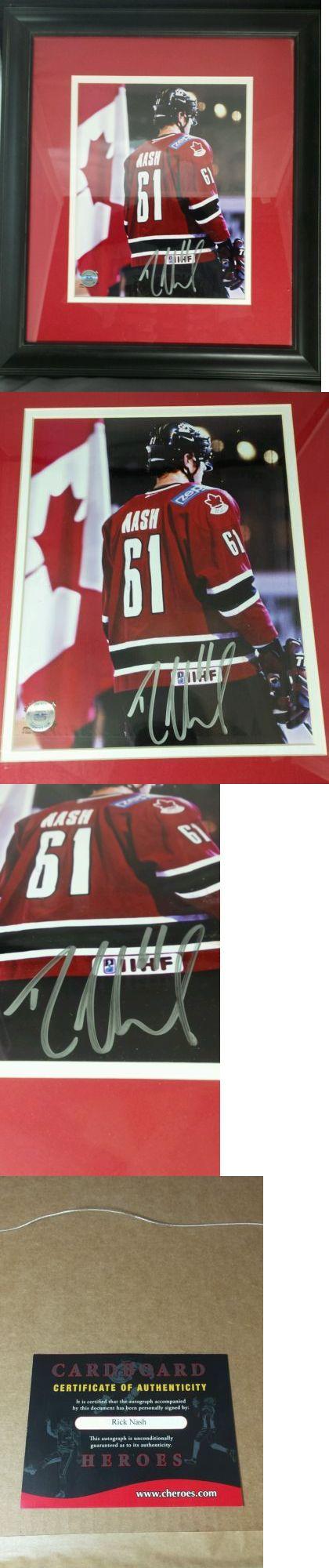 Hockey-Team Canada 2868: Team Canada Rick Nash Autographed Photo - Framed W Coa! New York Rangers Star! -> BUY IT NOW ONLY: $49.99 on eBay!