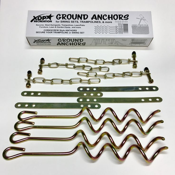 XDP Recreation Swing Set Ground Anchors - 70113
