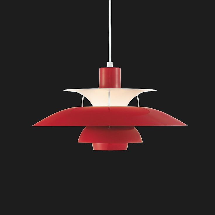 Poul Henningsen, PH5 Ceiling Lamp for Louis Poulsen, 1958.