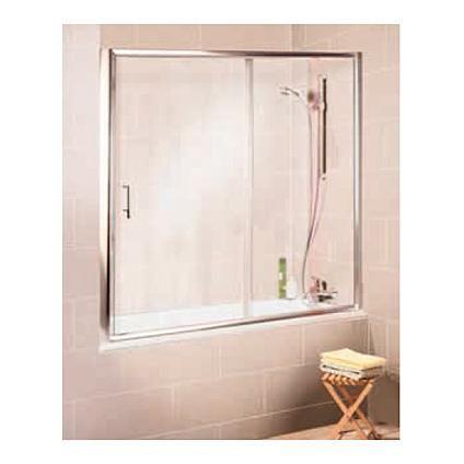 Pare-baignoire Schulte 'Imperial' porte coulissantes transparent