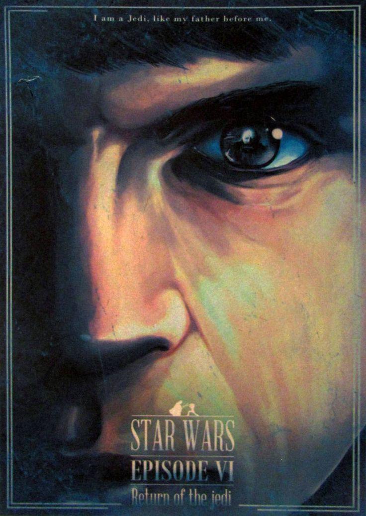 Постер к фильму Звёздные войны. Эпизод VI: Возвращение джедая 4 :: Интернет-магазин дизайнерских постеров