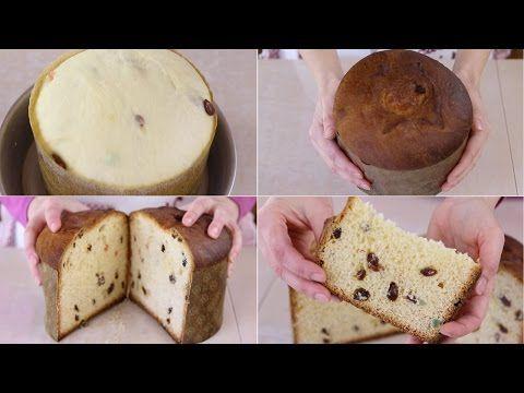 PANETTONE IMPASTATO A MANO Ricetta di Benedetta - Homemade Panettone Recipe - YouTube
