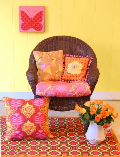 Theme Inspiration Decor Ideas In Yellow And Orange