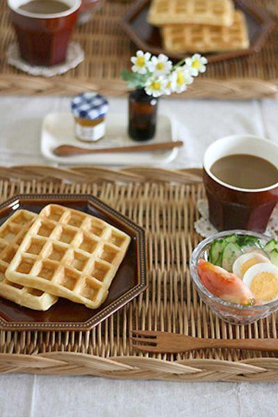 holiday's breakfast by I.E., via Flickr