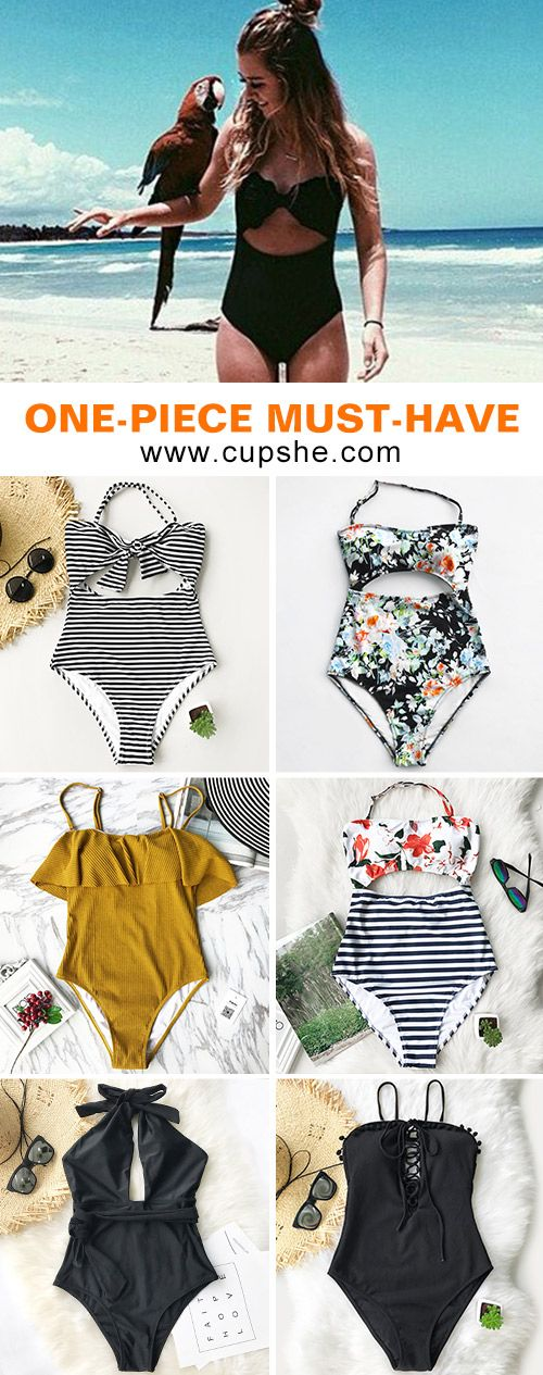 Summer is winding down. Between using up vacation days and escape the city on the weekends, one-piece swimsuits are your best choice. Swimming in the sea or walk and sit on the beach, you will feel comfortale. FREE shipping. Pack them~