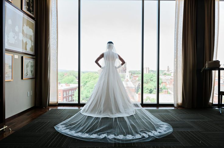 Photography: HK Photography  #海外ウェディング #アメリカ #結婚式 #ベール #veil
