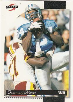 1996 Score #34 Herman Moore - Detroit Lions.