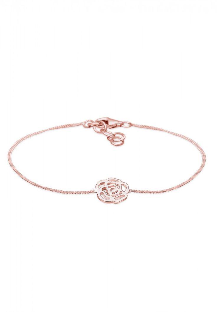 Elli Armband Blume 925 Sterling Silber