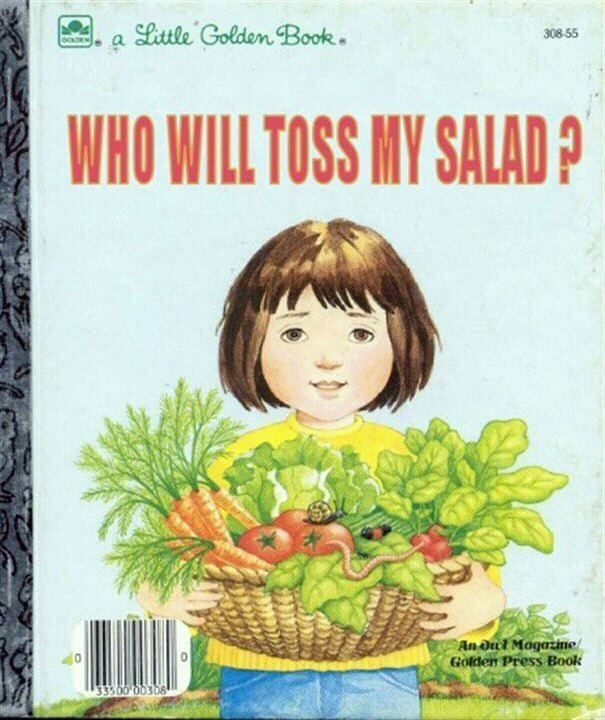 Toss SaladBook Lists, Remember This, Funny Book, Funny Pics, Book Title, Funny Pictures, Book Covers, Kids Book, Children Book
