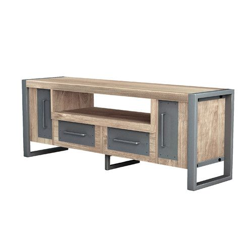 Found it at AllModern - Industrial Console Table