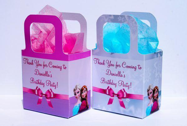 Personalised Disney Frozen Party Bags