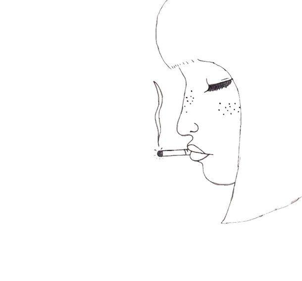 искусство, рисунок, девушка, волосы, Tumblr