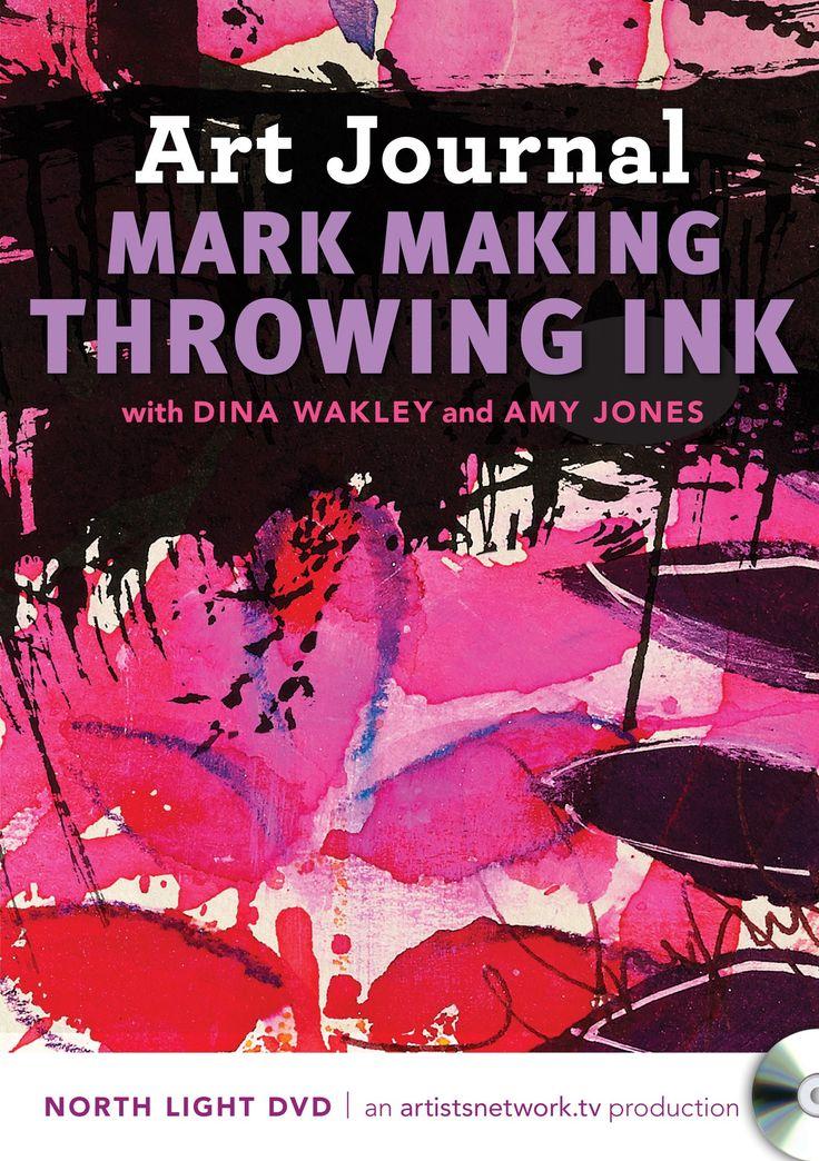Mixed Media Mark Making with Dina Wakley and Amy Jones | NorthLightShop.com