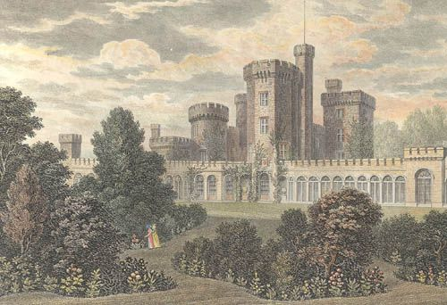 East Cowes Castle, located in East Cowes, Isle of Wight was the home of architect John Nash between its completion and his death in 1835. wikipedia