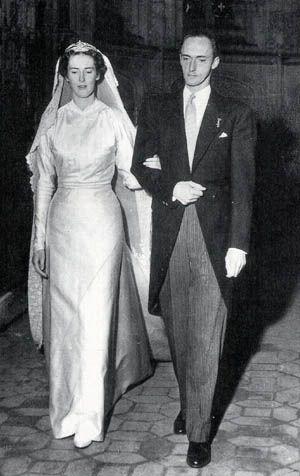 Archiduque Roberto de Austria -Este & Princesa Margarita de Saboya Aosta 1953