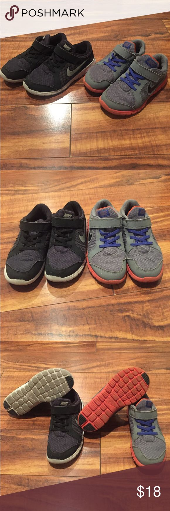 Nike Shoes Size 13 Two pairs of Nike shoes size 13! Great condition! Paid over $60 each! Check out my closet too Nike Shoes Sneakers