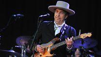 awesome Bob Dylan accepte enfin le prix Nobel, mois après la cérémonie