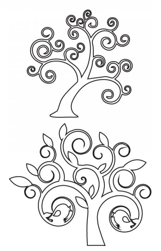 6 modelos de árboles para calar