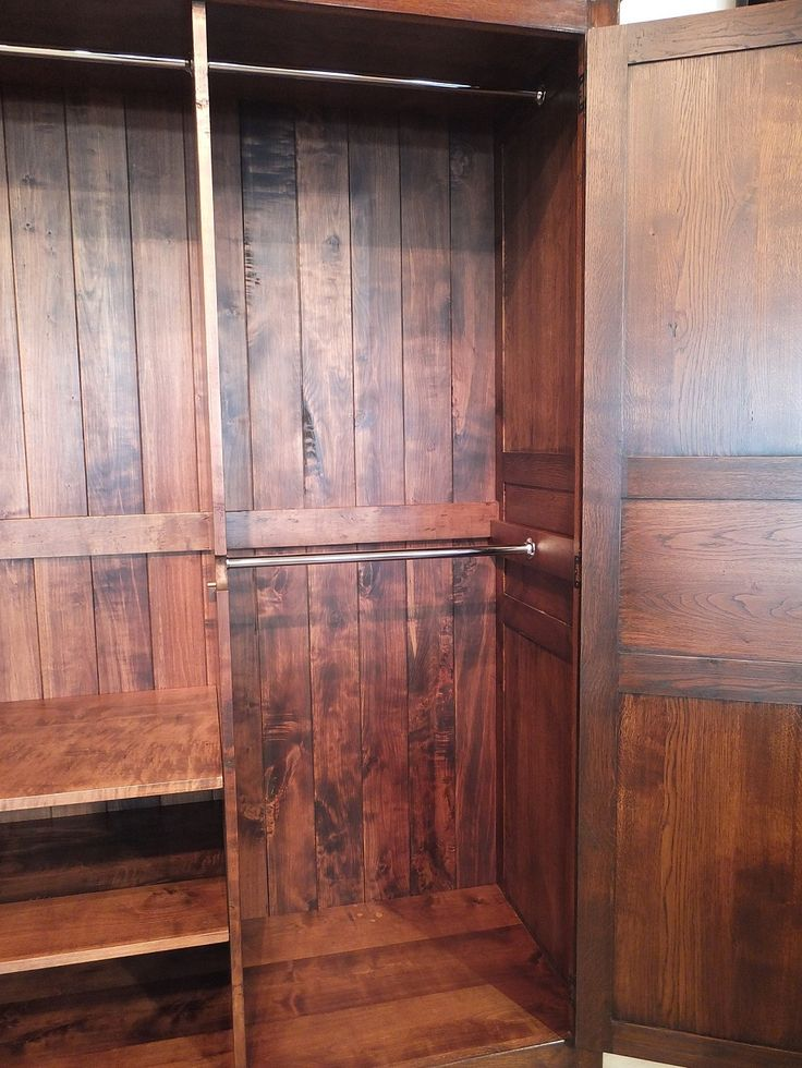 French Armoire Interior Railing