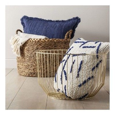 Oversized Throw Pillow - Blue - Threshold™ : Target