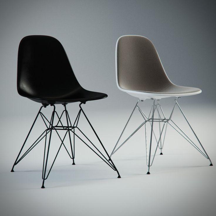 Charles Eames Plastic Chair 3D Max   3D Model