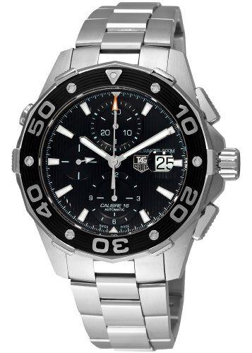 TAG Heuer Men's CAJ2110BA0872 Aquaracer Chronograph Watch: Tag Heuer: Watches