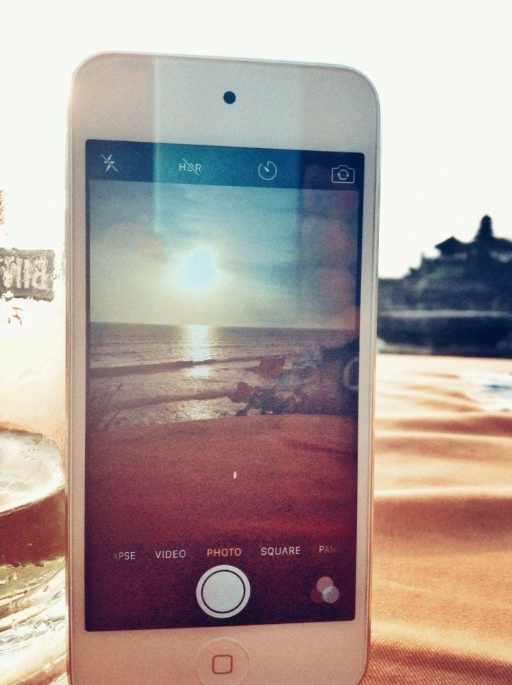 iPod to iPod to sunset XD