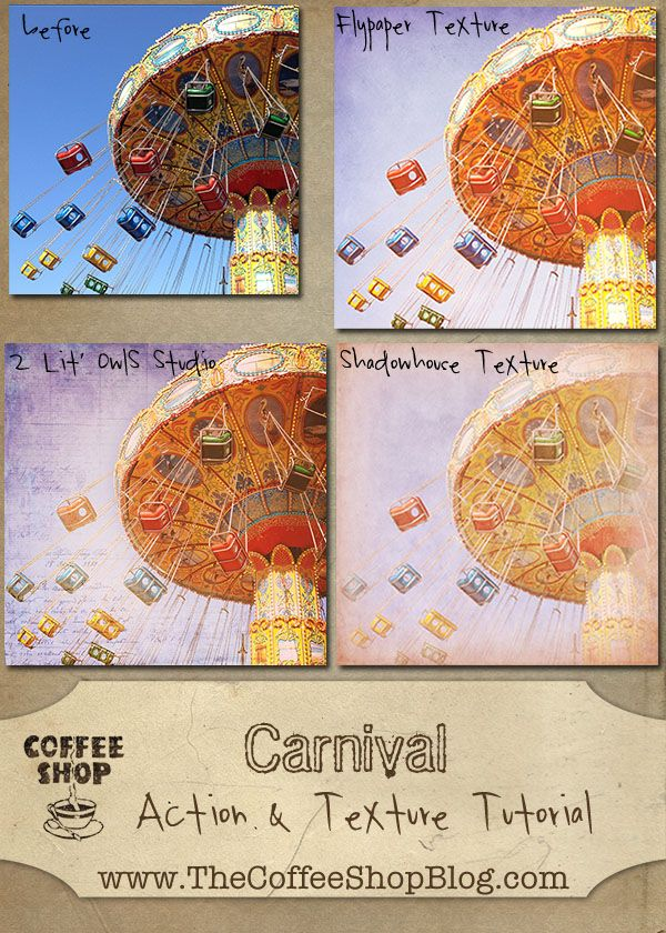 The CoffeeShop Blog: CoffeeShop Carnival Tutorial Part 1: Action UnWrapped