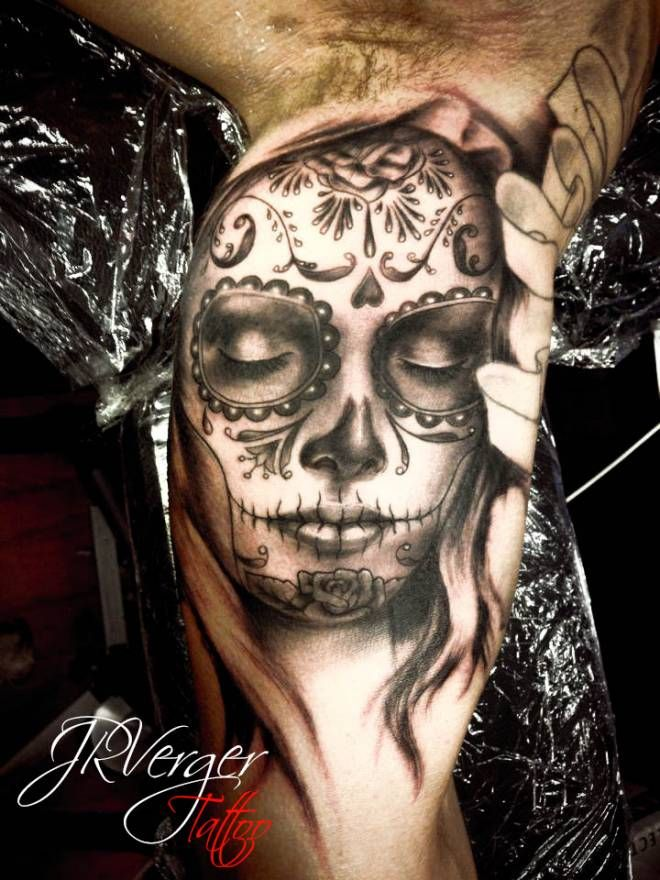 catrina 10 handpicked ideas to discover in tattoos. Black Bedroom Furniture Sets. Home Design Ideas