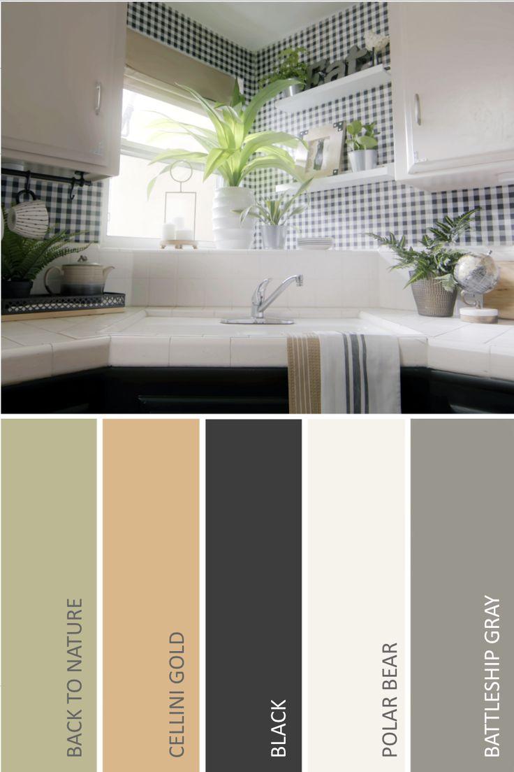 farmhouse kitchen paint colors behr