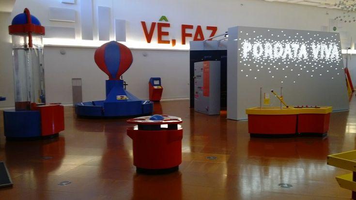 Wetenschapsmuseum Pavilhão do Conhecimento in Lissabon. Info: harp met laserstralen, spijkerbed, tornado, allerlei experimenten en proefjes. #Lisbon #museum