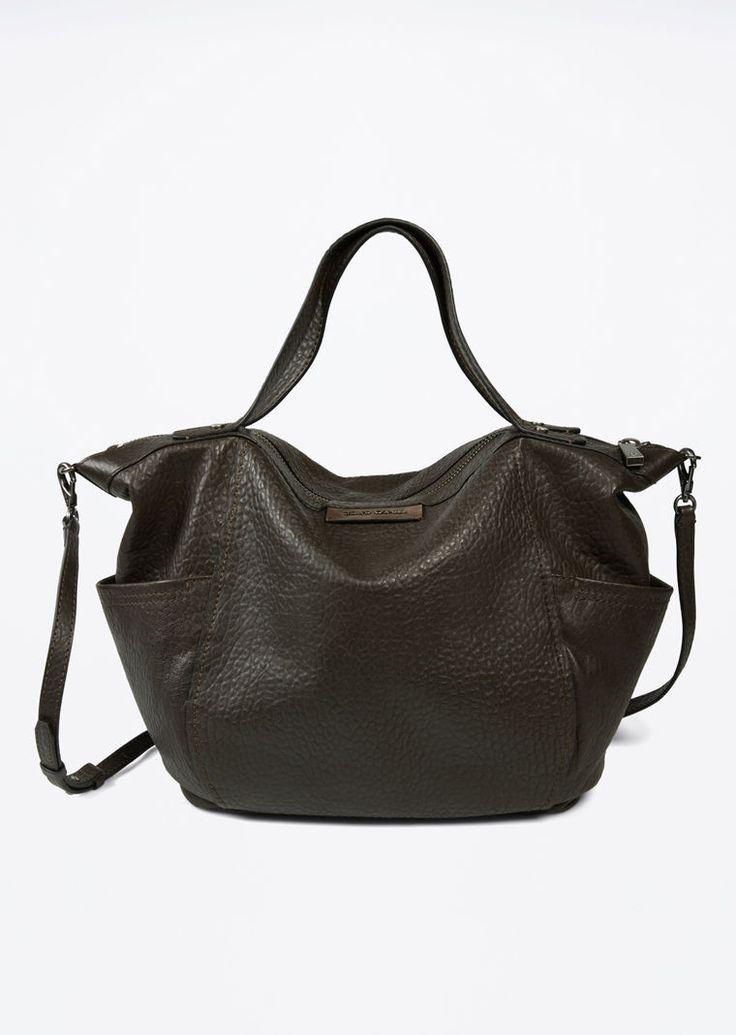 MARC O'POLO, Damen, Schuhe & Accessoires, Taschen, Shopper, aus weichem Lammleder