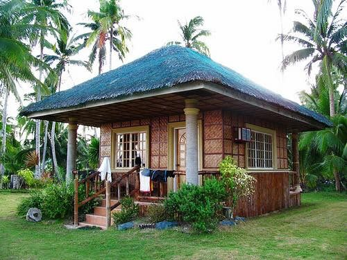 312 best bahay kubo images on pinterest bahay kubo home - Bamboo house design and floor plan ...