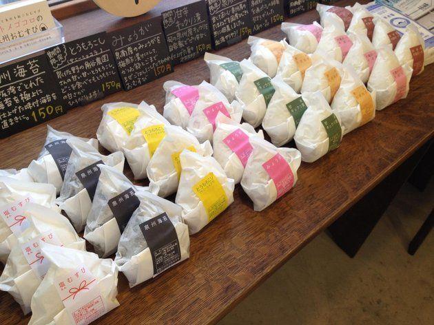 オトメゴコロ 泉州おむすび Onigiri Packaging