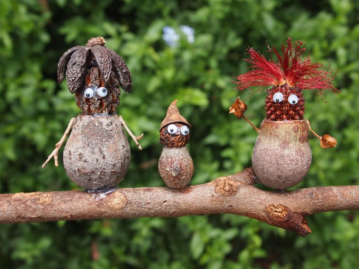 Gumnut people made by me