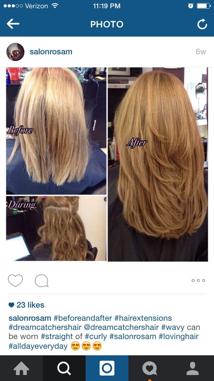 Dreamcatcher hair extensions ... Hair extensions blonde ...