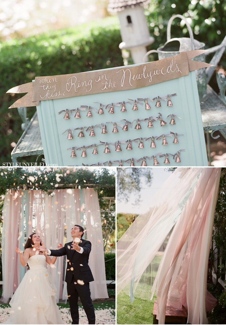 Oh wow - how I heart this beautiful fabric  strip backdrop - I love the colors and the romantic flowy feel of it!