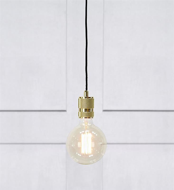Etui Pendel 1l Massing 1 Hangande Lampa Lampor Glodlampa