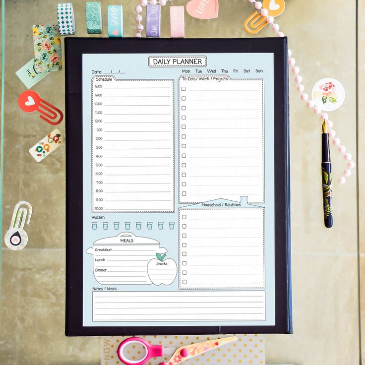 The 25+ best Daily schedule template ideas on Pinterest   Daily ...