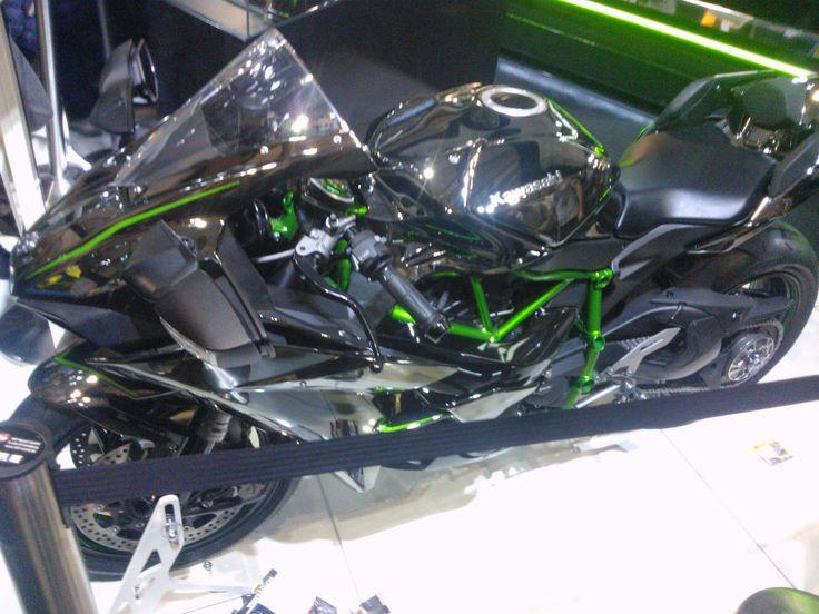 Kawasaki h2r EICMA 2014