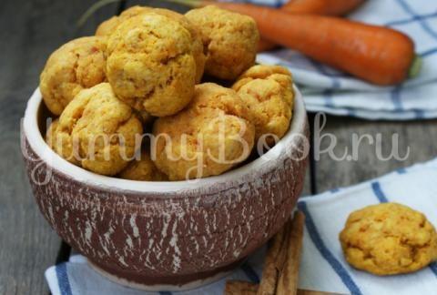 Морковно-яблочное печенье | 4vkusa.ru