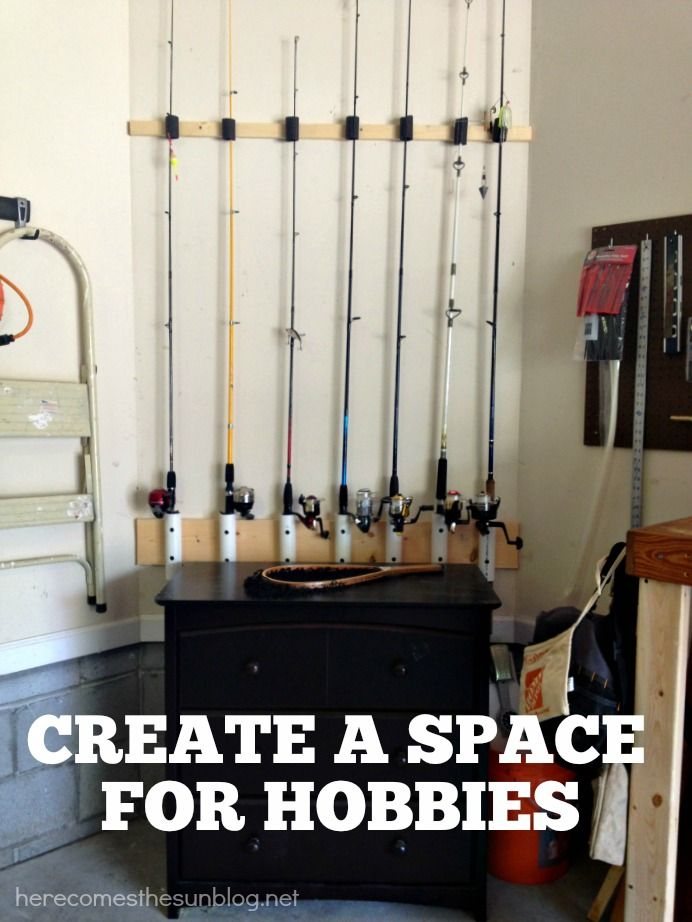 Garage Organization 101 Outdoor Tools Rod Holders And