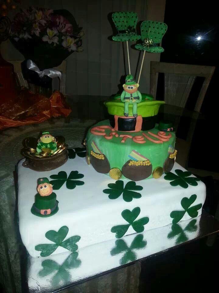 St patricks birthday cake