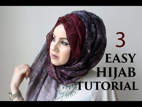 Hijab Tutorial | Loose Hijab - YouTube